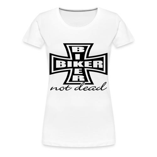 biker - Frauen Premium T-Shirt