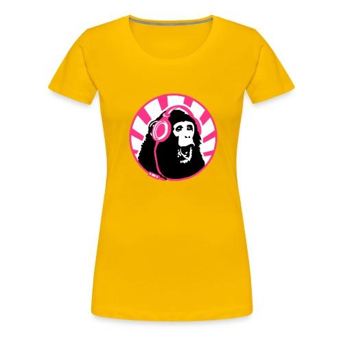 Crazy Chimp women's Tee - Women's Premium T-Shirt