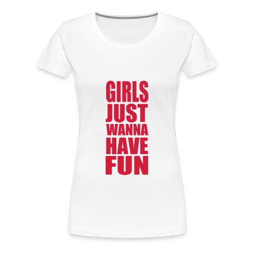 Fun - Frauen Premium T-Shirt