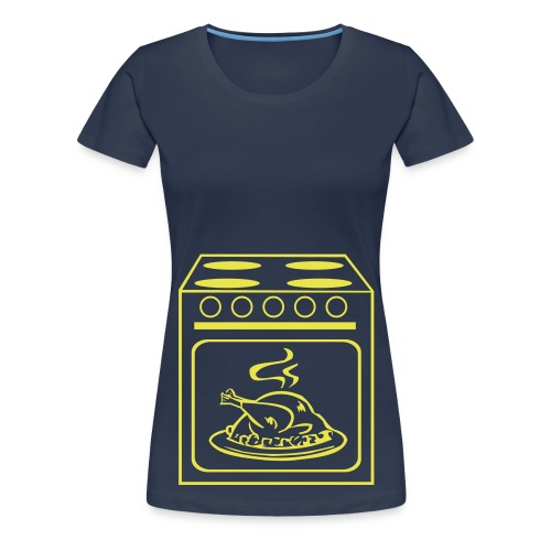 Braten im Ofen - Frauen Premium T-Shirt