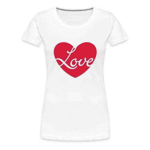 Love T Shirt - Women's Premium T-Shirt