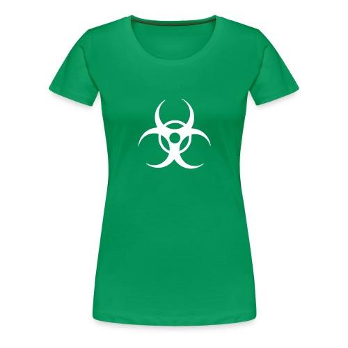 Biohazard (white) - Women's Premium T-Shirt