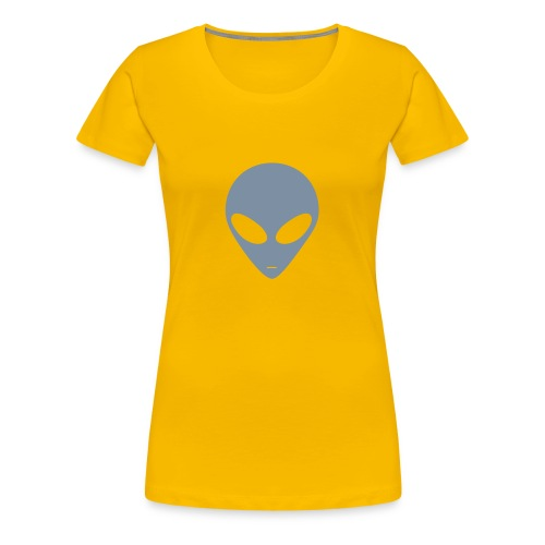 Alien (silver) - Women's Premium T-Shirt
