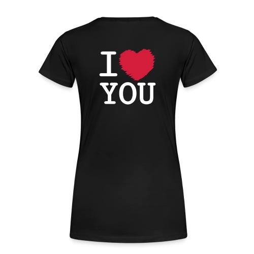 love_2 - Dame premium T-shirt