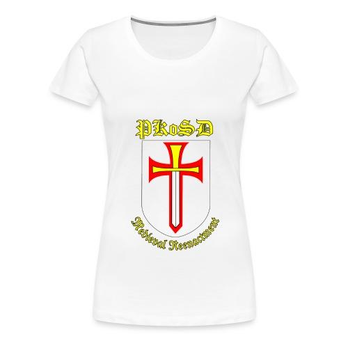Women's PKoSD White T Shirt - Women's Premium T-Shirt