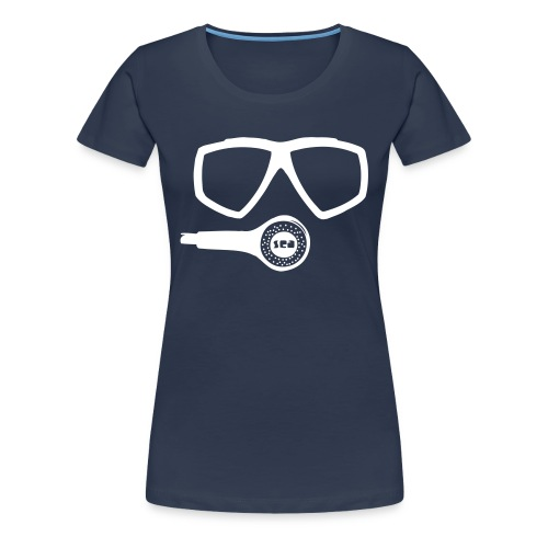 TAUCHER Sea - Frauen Premium T-Shirt