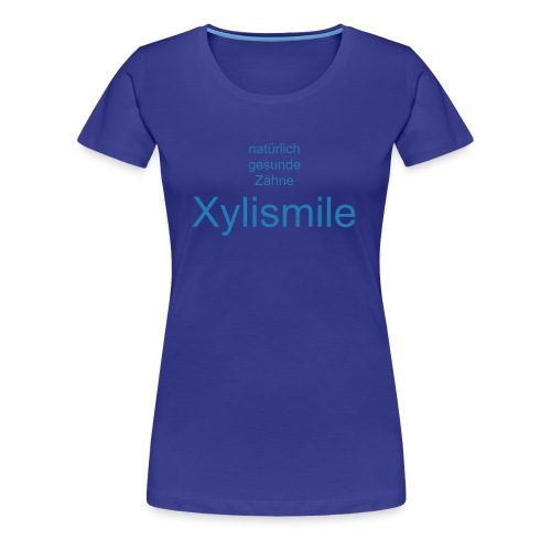 xylismile message shirt - Frauen Premium T-Shirt