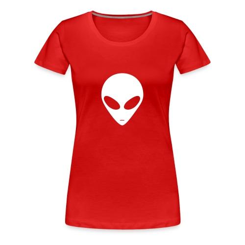 Alien (white) - Women's Premium T-Shirt