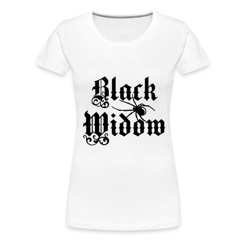 Black Widow - Frauen Premium T-Shirt