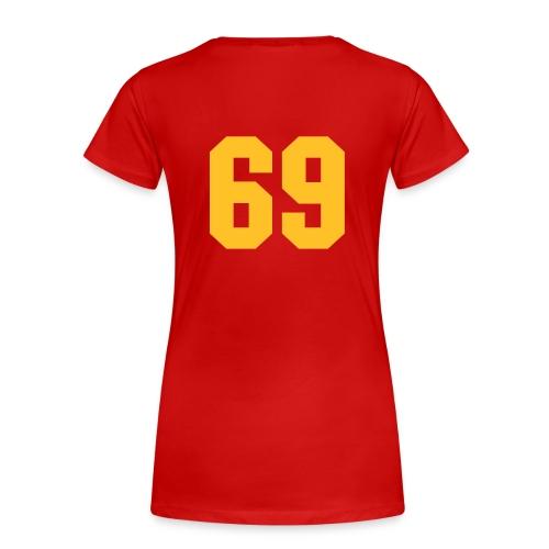 I love 69 - Frauen Premium T-Shirt