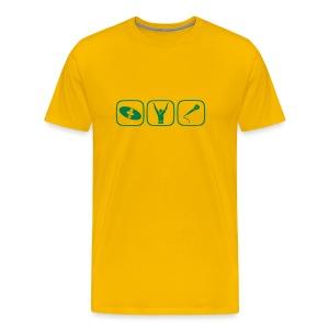 Heilige Dreifaltigkeit - Männer Premium T-Shirt