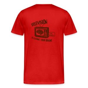 Television - Miesten premium t-paita