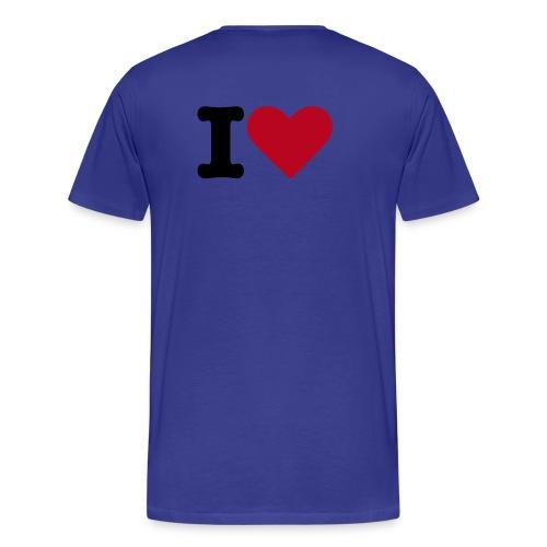 Royal SKULL BTEH TEE MEN - Männer Premium T-Shirt