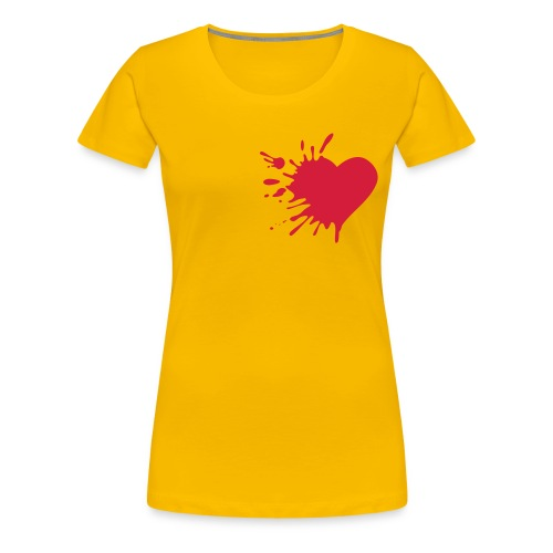 Love hurts (D) - Dame premium T-shirt