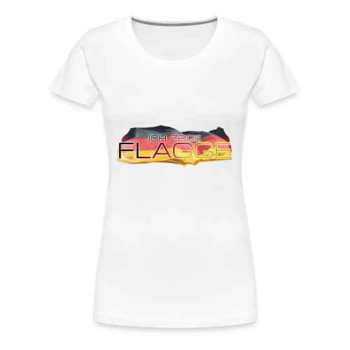 Ich zeig Flagge 2 - Frauen - Frauen Premium T-Shirt