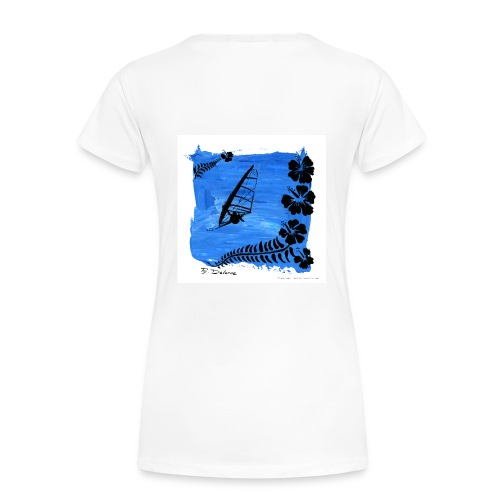 windsurf 6 F - Frauen Premium T-Shirt