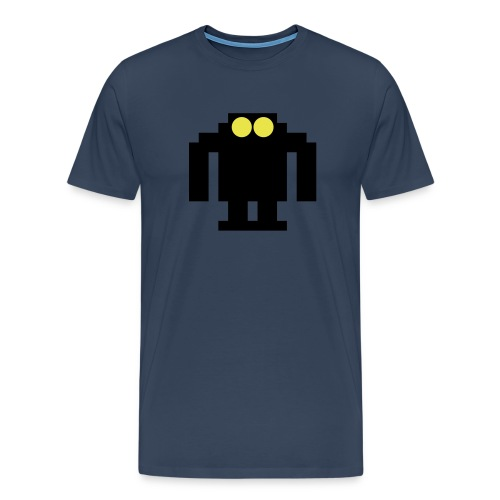 Space boy-robot - Premium T-skjorte for menn