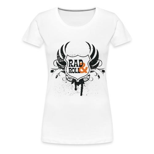 Rad and Roll -T-Shirt - Frauen Premium T-Shirt