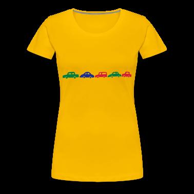 Yellow cars Women's Tees