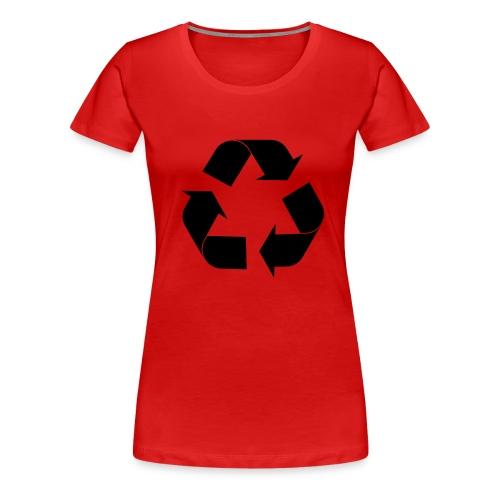 recycl - T-shirt Premium Femme