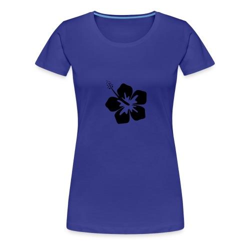 Shirt Blume - Frauen Premium T-Shirt
