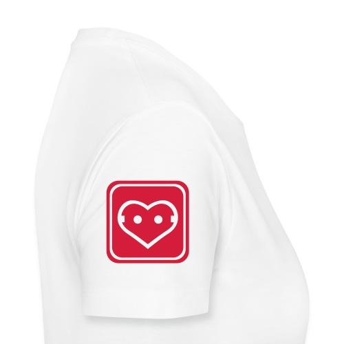 Girlie-Shirt unter Spannung - Frauen Premium T-Shirt