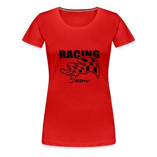 Racing rot - Frauen Premium T-Shirt