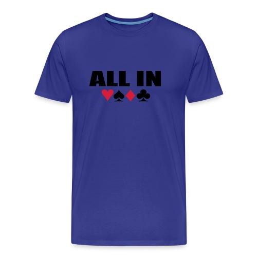 Poker - Premium T-skjorte for menn