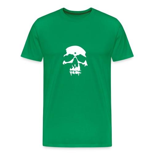 Skull Vampire (white) - Men's Premium T-Shirt