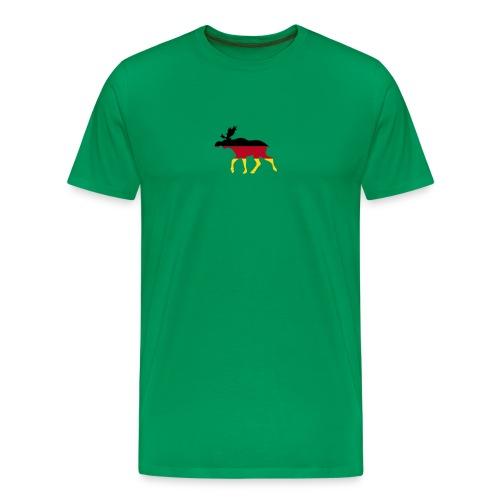 Deutsche Elch khaki - Männer Premium T-Shirt