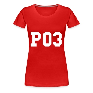 PO3 - Power of 3 - Women's Premium T-Shirt