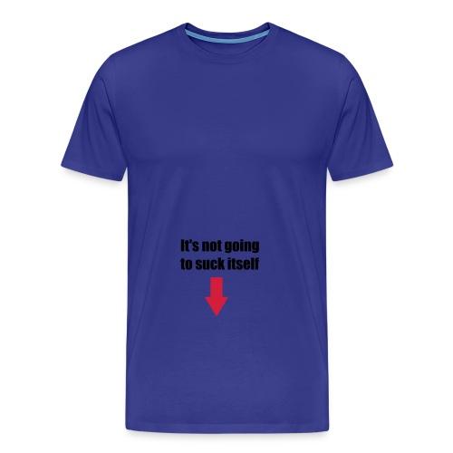 Suck itself - Premium T-skjorte for menn