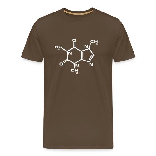 Caffeina - Maglietta Premium da uomo