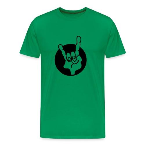 Hand Rock - Männer Premium T-Shirt