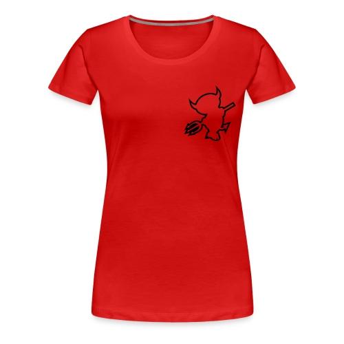 Devil - Frauen Premium T-Shirt