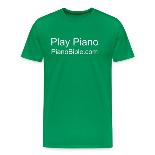I play piano - Men's Premium T-Shirt