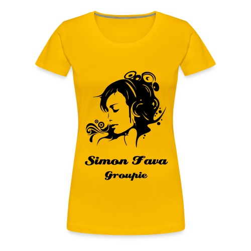 Women Groupie Collection 2 - Frauen Premium T-Shirt