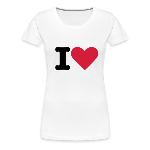 'I' Love Continental Classic Women's  - Women's Premium T-Shirt