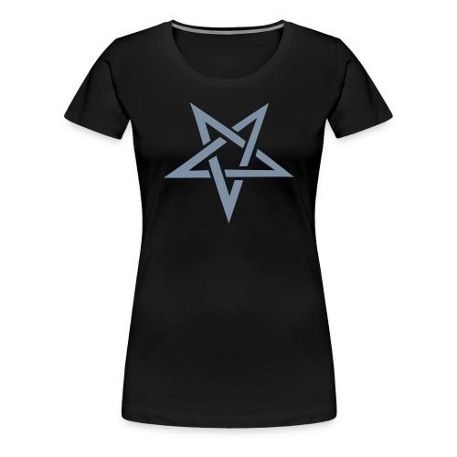 Pentagram - Naisten premium t-paita