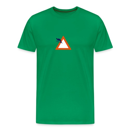 Skispringen - grün - Männer Premium T-Shirt