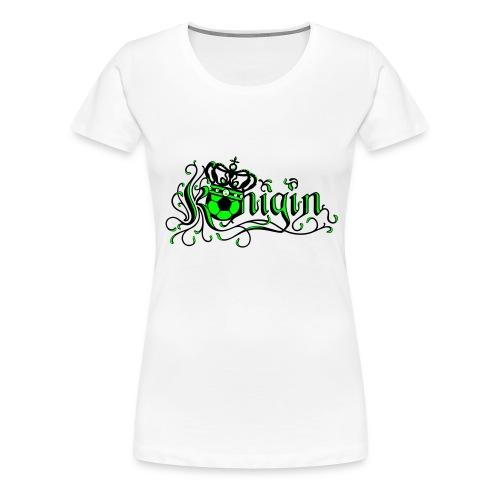 deutschland fussball königin - Frauen Premium T-Shirt