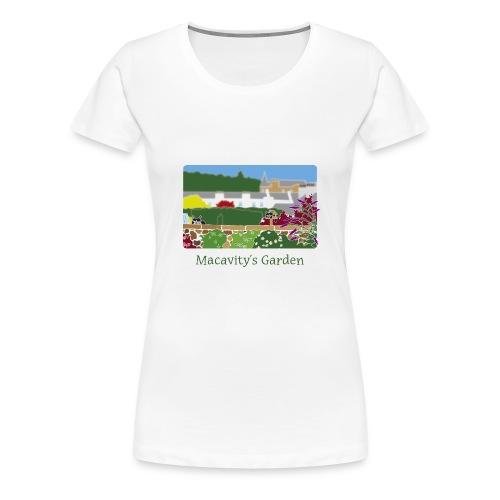 Macavity's Garden - large image - Women's Premium T-Shirt