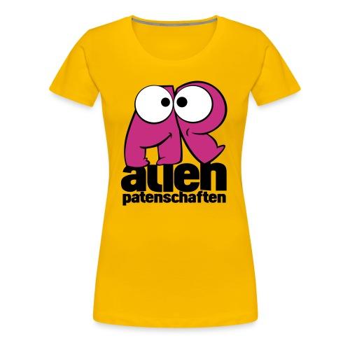 alienpatenschaften - Frauen Premium T-Shirt