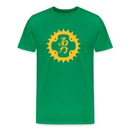 Chainring Courage - Men's Premium T-Shirt