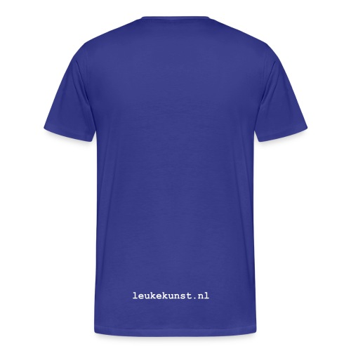 Live Simply - Mannen Premium T-shirt