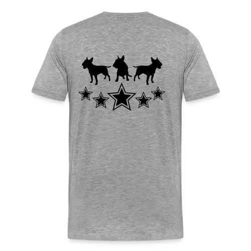 Tshirt Bull-a-holic - Mannen Premium T-shirt