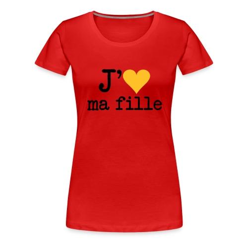 Soutient BB-Crew - T-shirt Premium Femme