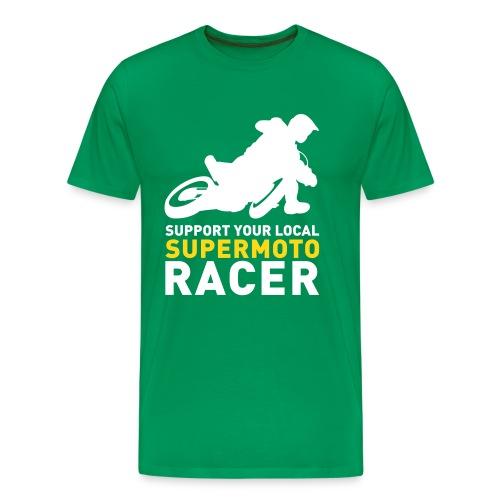Tshirt Support Racer -Vert - T-shirt Premium Homme