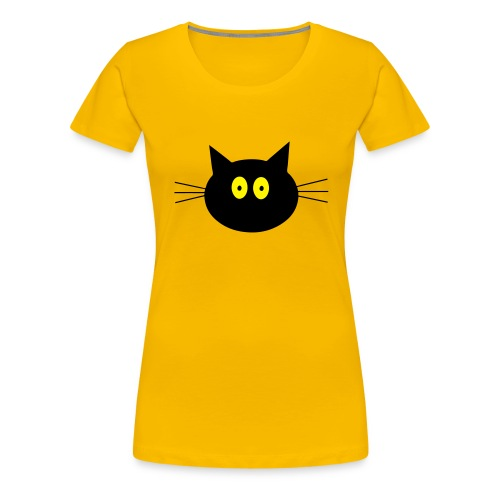 Katze - rosa - Frauen - Frauen Premium T-Shirt