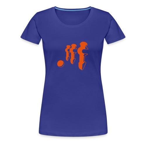 FooSBalL Girl T-shirt - Koszulka damska Premium